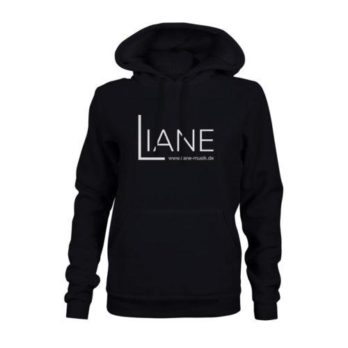 Hoodie Damen Liane Logo schwarz