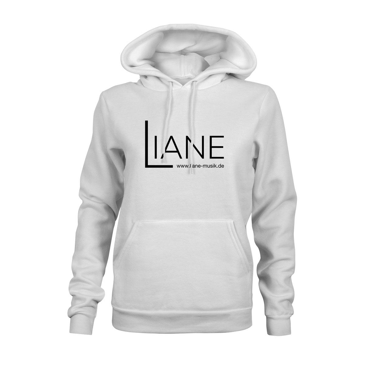 Hoodie Damen Liane Logo weiß