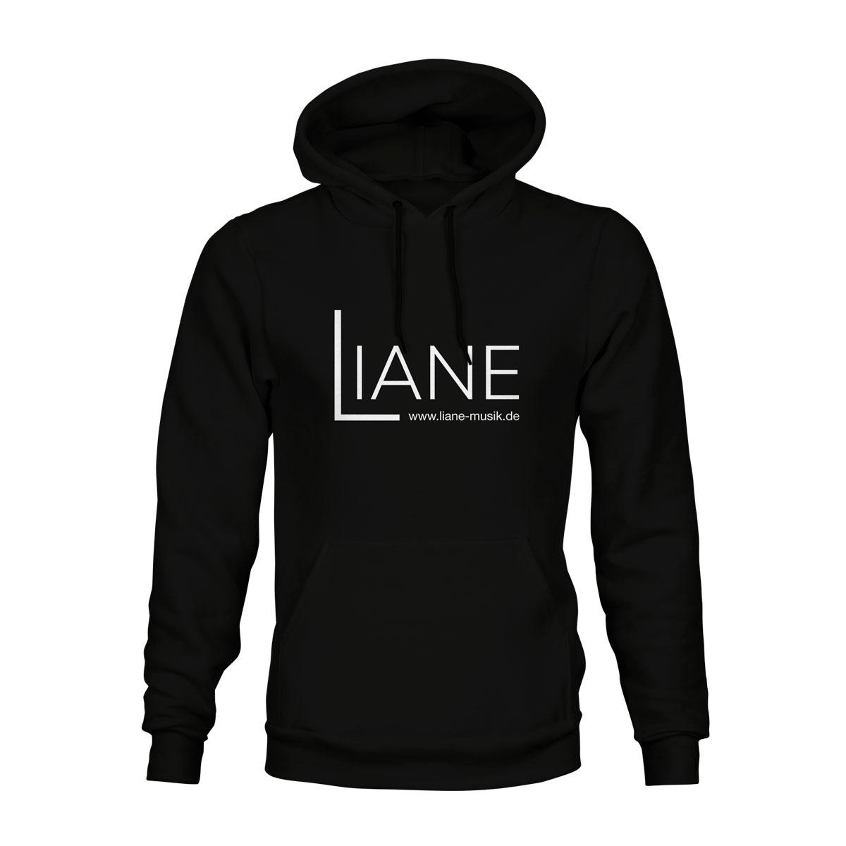 Hoodie Unisex Liane Logo schwarz