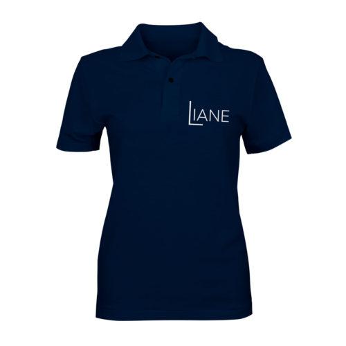 Liane Poloshirt Damen blau