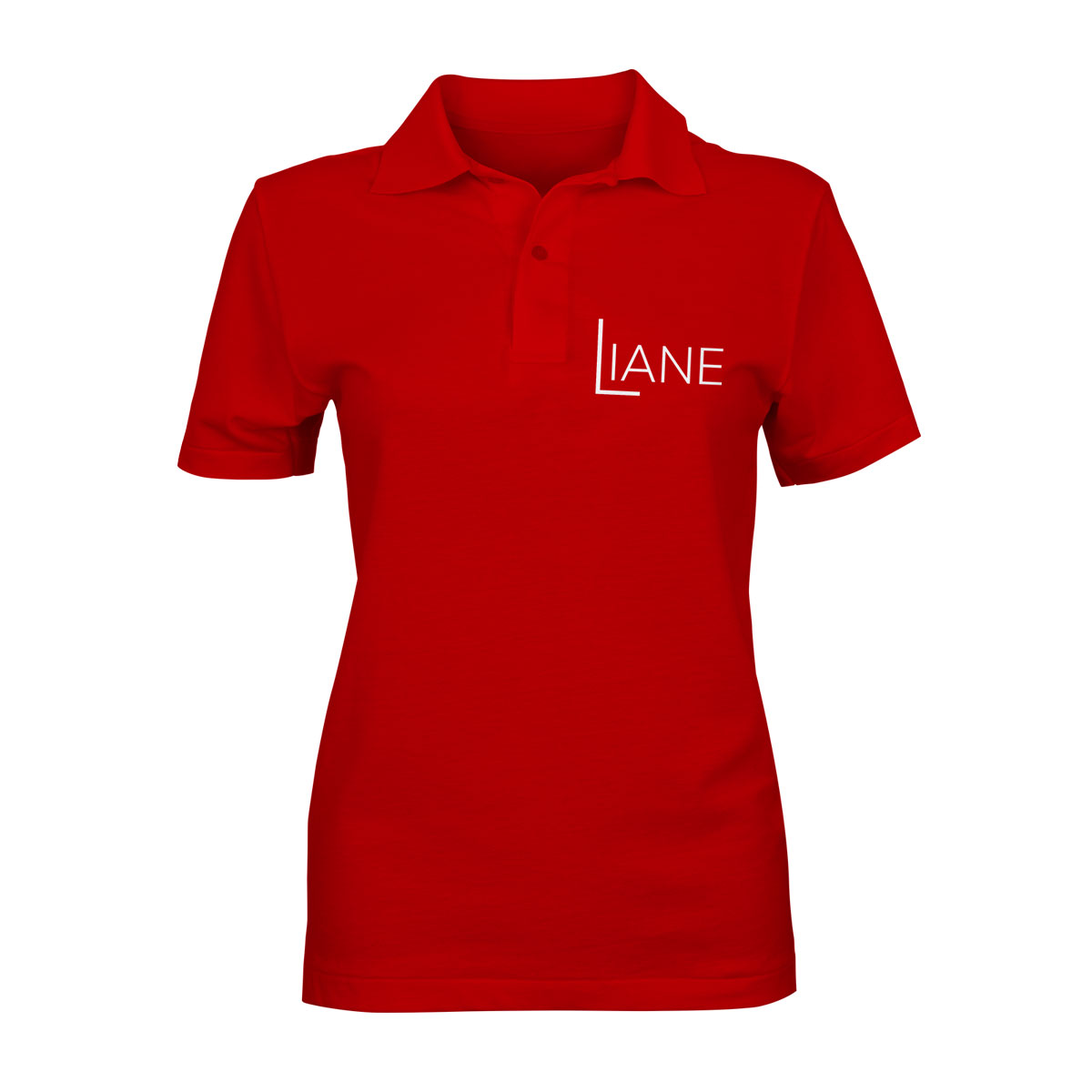 Liane Poloshirt Damen rot
