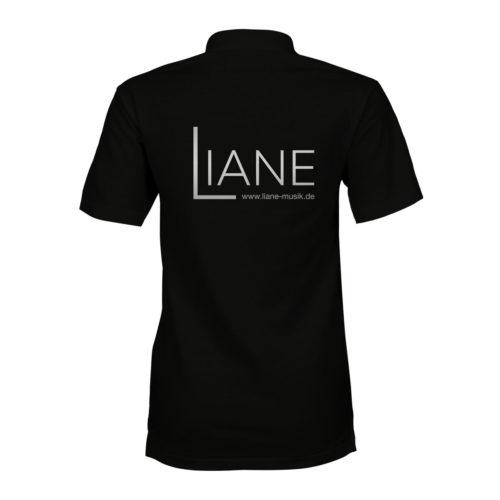Liane Poloshirt Damen schwarz