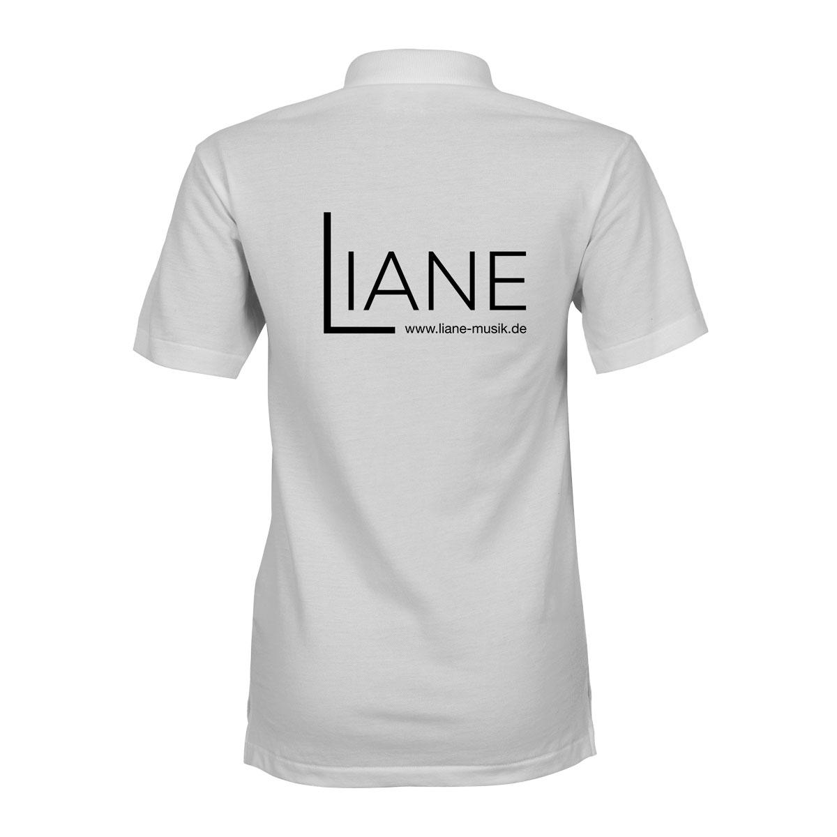 Liane Poloshirt Damen weiss
