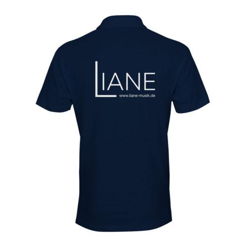 Liane Poloshirt Herren blau