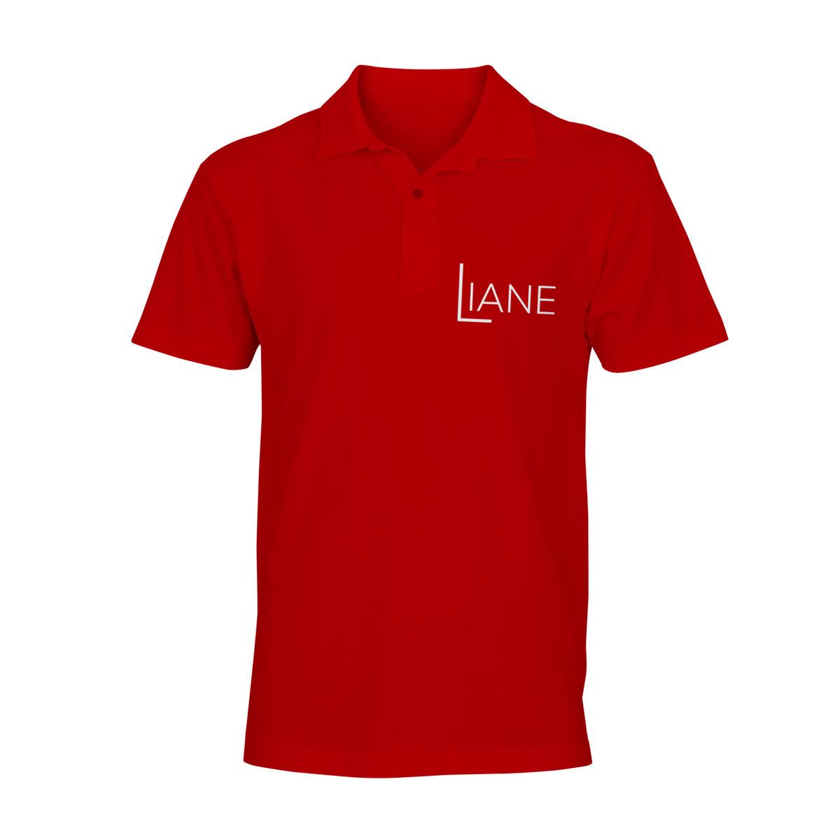 Liane Poloshirt Herren rot