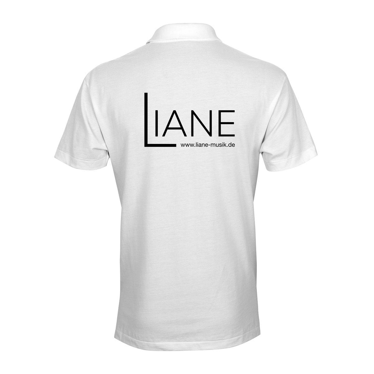 Liane Poloshirt Herren weiss