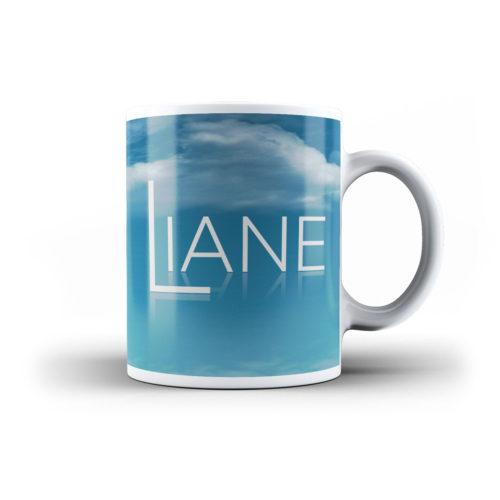 Liane Tasse blau