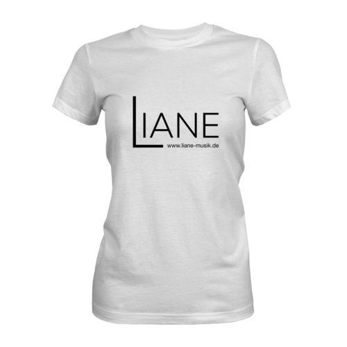 T-Shirt Damen Liane Logo weiß