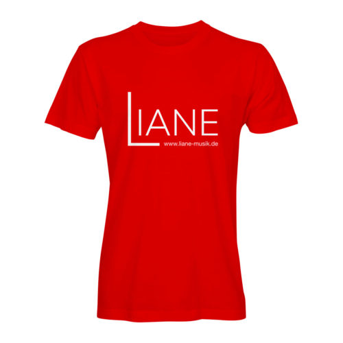 T-Shirt Herren Liane Logo rot